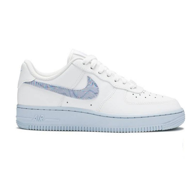 N.IKE AIR FORCE 1 LOW WHITE HYDROGEN BLUE REP 1:1