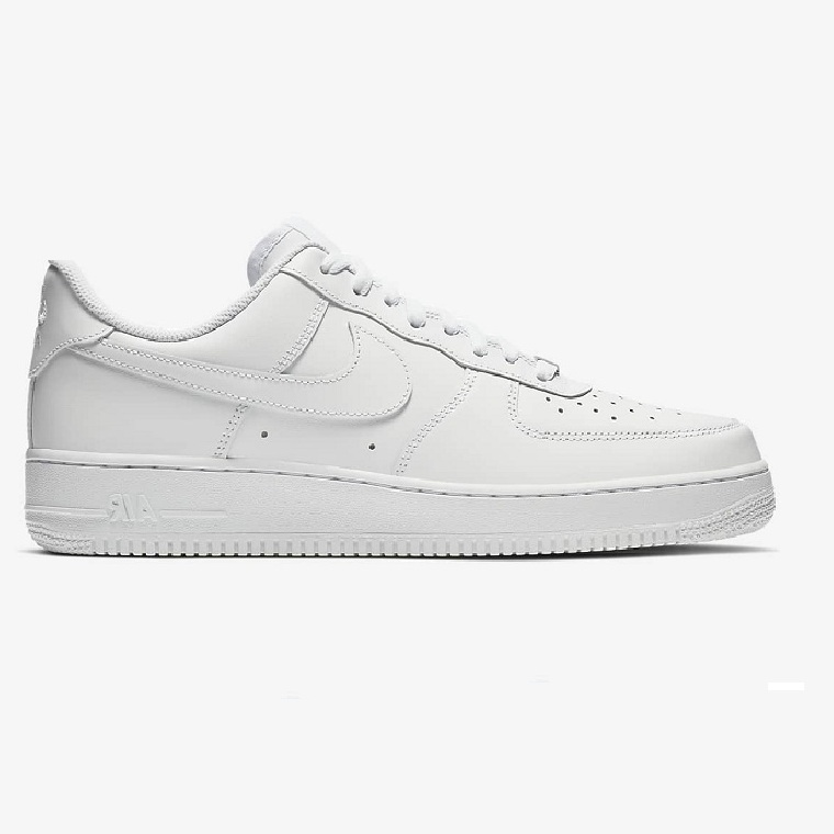 N.IKE AIR FORCE 1 LOW ALL WHITE REP++